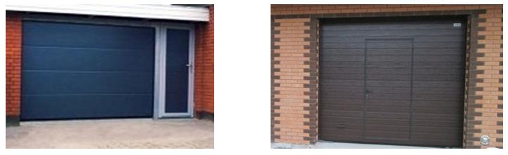секционные гаражные ворота «Alutech»